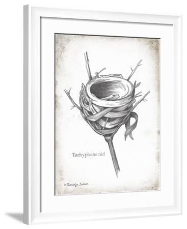 French Bird Nest I-Gwendolyn Babbitt-Framed Art Print