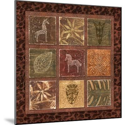 Tribal Collage I-Charlene Audrey-Mounted Art Print