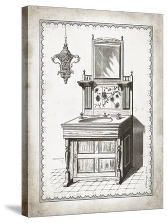 Victorian Sink II-Gwendolyn Babbitt-Stretched Canvas Print