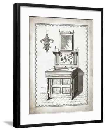 Victorian Sink II-Gwendolyn Babbitt-Framed Art Print