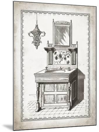 Victorian Sink II-Gwendolyn Babbitt-Mounted Art Print