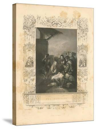 Faith Engraving IV-Gwendolyn Babbitt-Stretched Canvas Print