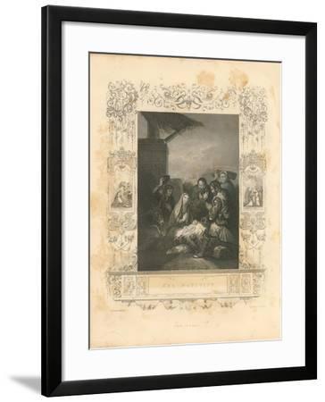 Faith Engraving IV-Gwendolyn Babbitt-Framed Art Print