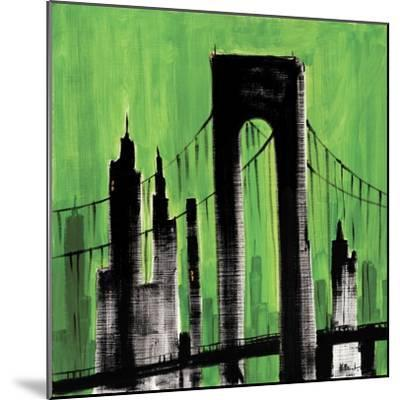 Green Cityscape-Paul Brent-Mounted Art Print