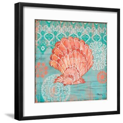 Coral Cove Shells I-Paul Brent-Framed Art Print