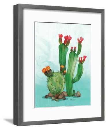 Cactus II-Paul Brent-Framed Premium Giclee Print