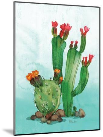 Cactus II-Paul Brent-Mounted Premium Giclee Print
