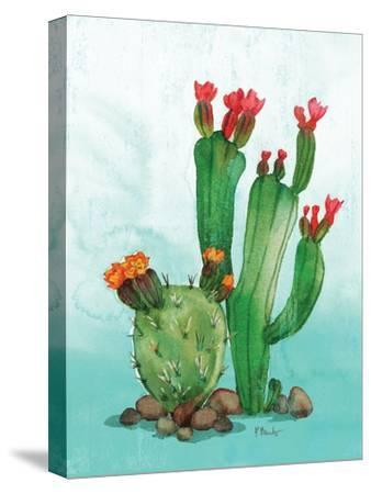 Cactus II-Paul Brent-Stretched Canvas Print