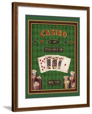 Texas Hold 'Em-Daphne Brissonnet-Framed Art Print