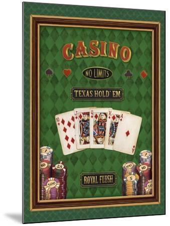 Texas Hold 'Em-Daphne Brissonnet-Mounted Art Print