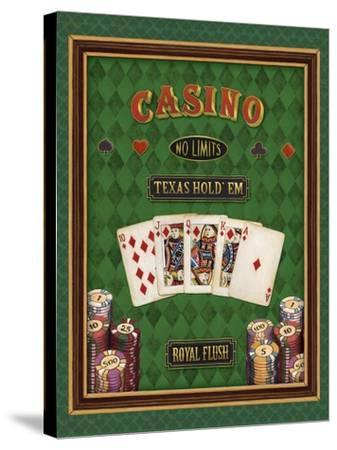 Texas Hold 'Em-Daphne Brissonnet-Stretched Canvas Print