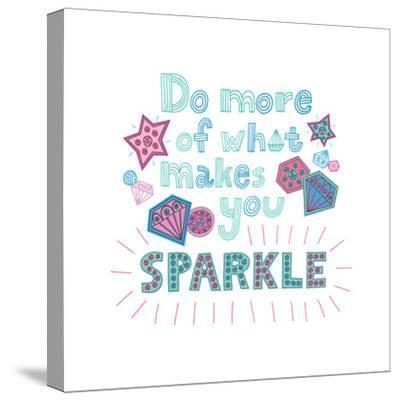 Sparkle II-Jane Smith-Stretched Canvas Print
