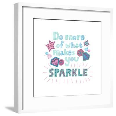 Sparkle II-Jane Smith-Framed Art Print