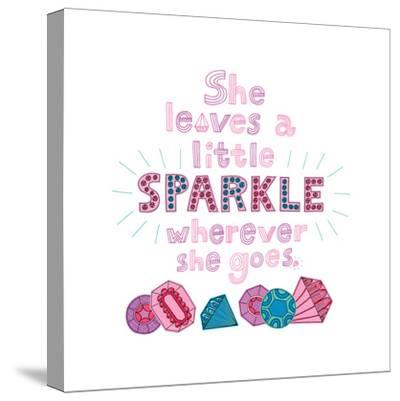 Sparkle I-Jane Smith-Stretched Canvas Print
