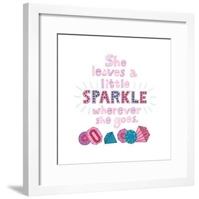 Sparkle I-Jane Smith-Framed Art Print