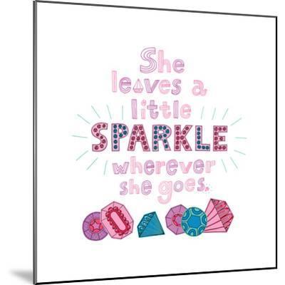Sparkle I-Jane Smith-Mounted Art Print