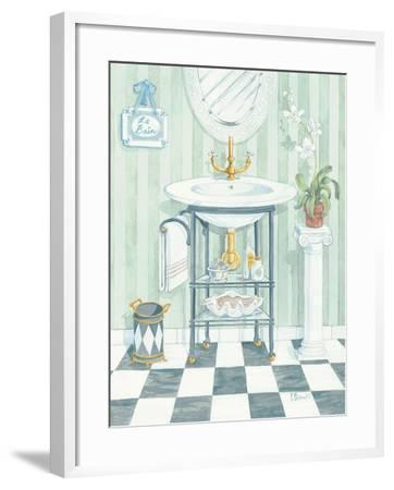 Wash Basin-Paul Brent-Framed Art Print