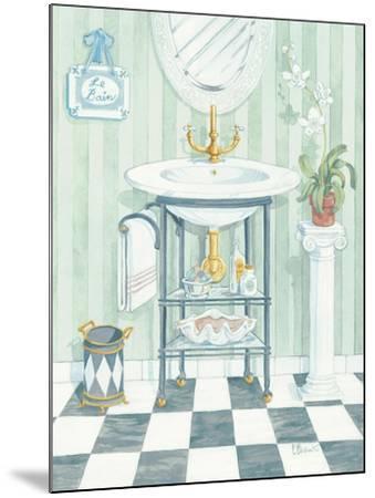 Wash Basin-Paul Brent-Mounted Art Print