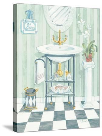 Wash Basin-Paul Brent-Stretched Canvas Print