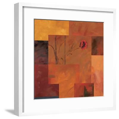 Goa Poppy II-Paul Brent-Framed Art Print