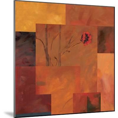 Goa Poppy II-Paul Brent-Mounted Art Print