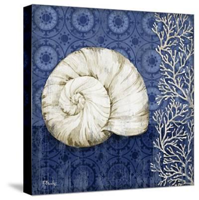 Deep Blue Sea II-Paul Brent-Stretched Canvas Print