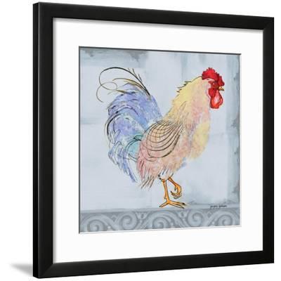 Good Morning Rooster I-Gregory Gorham-Framed Art Print