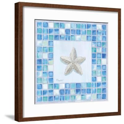 Mosaic Starfish-Paul Brent-Framed Art Print