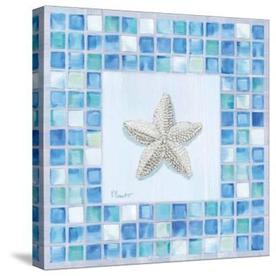 Mosaic Starfish-Paul Brent-Stretched Canvas Print