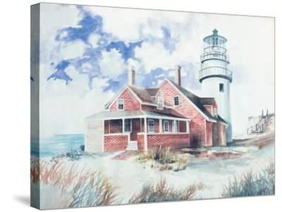 Cape Cod Light House-Gregory Gorham-Stretched Canvas Print
