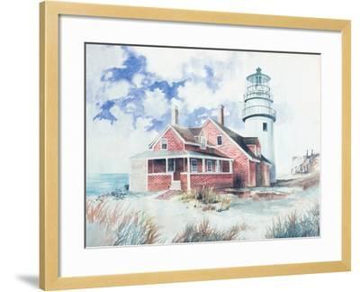 Cape Cod Light House-Gregory Gorham-Framed Art Print