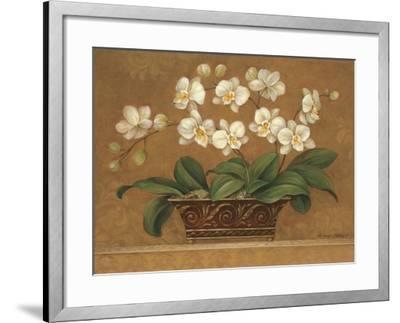 Orchid Tapestry-Pamela Gladding-Framed Art Print