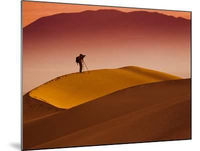 Mesquite Flat Dunes at Death Vakkey National Park-Gleb Tarro-Mounted Photographic Print