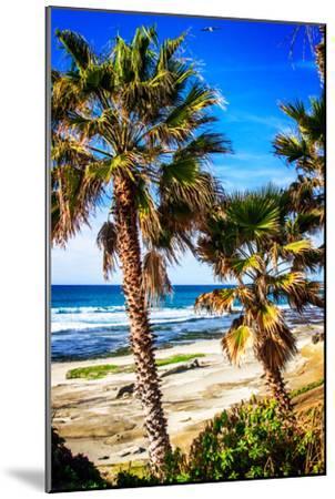 La Jolla Palms II-Alan Hausenflock-Mounted Photo