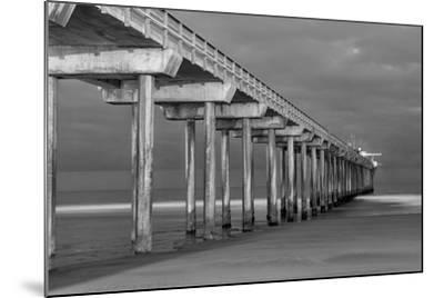 Scripps Pier BW I-Lee Peterson-Mounted Photo