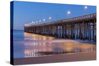 Ventura Pier-Lee Peterson-Stretched Canvas Print