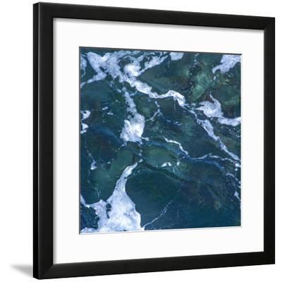 Seafoam I-Rita Crane-Framed Photo