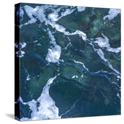 Seafoam I-Rita Crane-Stretched Canvas Print