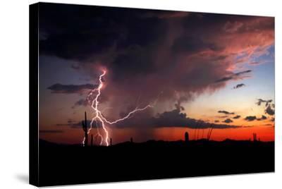 Twilight Lightning I-Douglas Taylor-Stretched Canvas Print