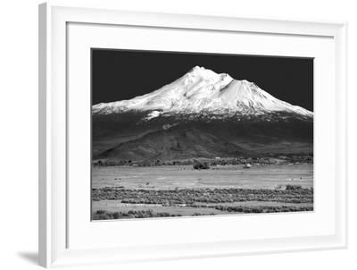 Shasta County Spring BW-Douglas Taylor-Framed Photo