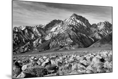 Mt Williamson II BW-Douglas Taylor-Mounted Photo