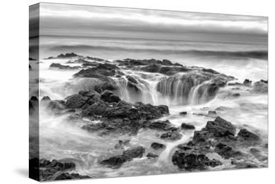 Thors Well BW-Stan Hellmann-Stretched Canvas Print