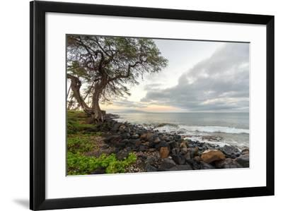 Kihei Sunrise-Stan Hellmann-Framed Photo