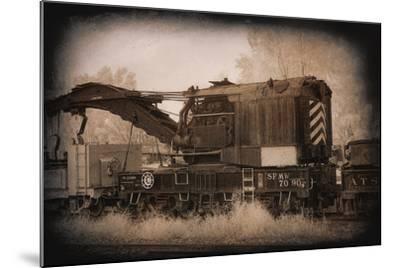 Work Train-George Johnson-Mounted Photo