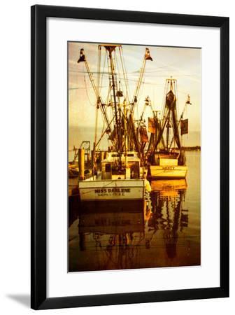 At the Dock III-Alan Hausenflock-Framed Photo