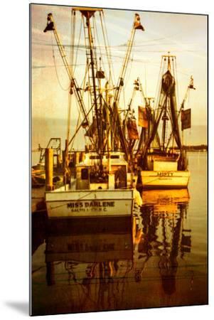 At the Dock III-Alan Hausenflock-Mounted Photo
