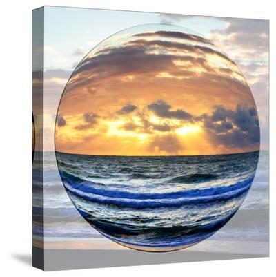 Sunrise Circle I-Alan Hausenflock-Stretched Canvas Print