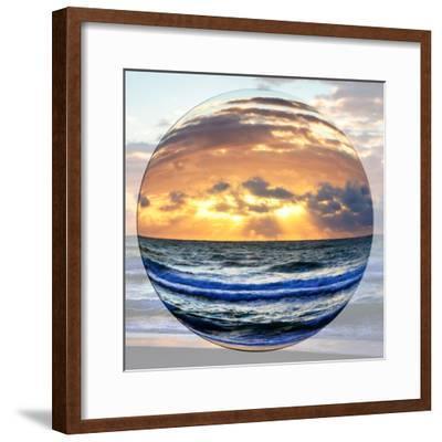 Sunrise Circle I-Alan Hausenflock-Framed Photo