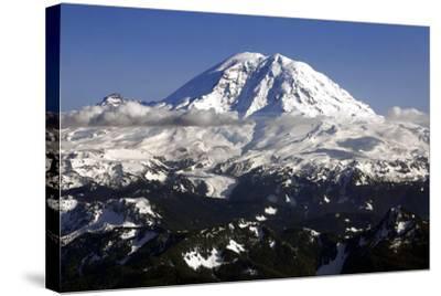 Mt Rainier North Face-Douglas Taylor-Stretched Canvas Print