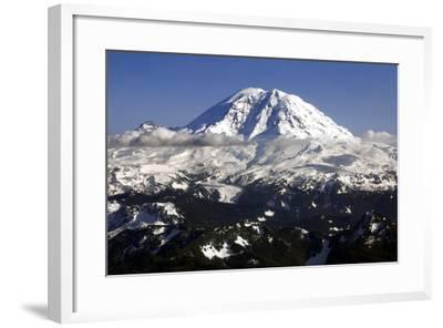 Mt Rainier North Face-Douglas Taylor-Framed Photo
